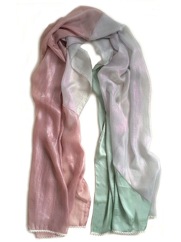 liquid limited edition | luxury handmade scarf by Atelier Markx