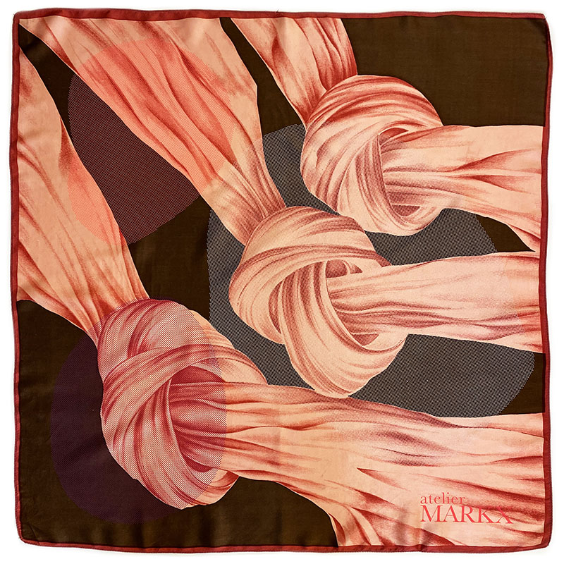 Atelier Markx, a brand of luxurious, handmade scarves & silks.
